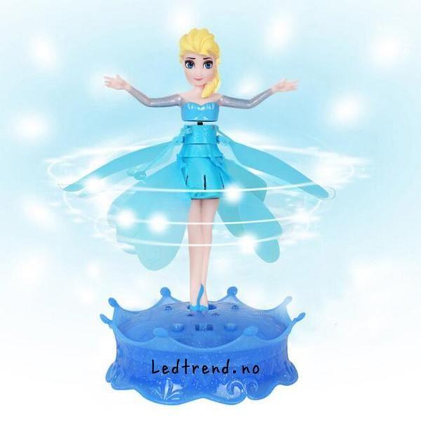 Elsa fra Frost dukke som kan fly.