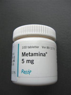 METAMINA  vad är detta för medicin som används vid ADHD. Biverkningar, och biologi
