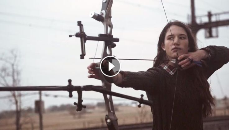 VERY COOL: Watch These Deadly Female Archers Shoot Stuff In Slow Mo!