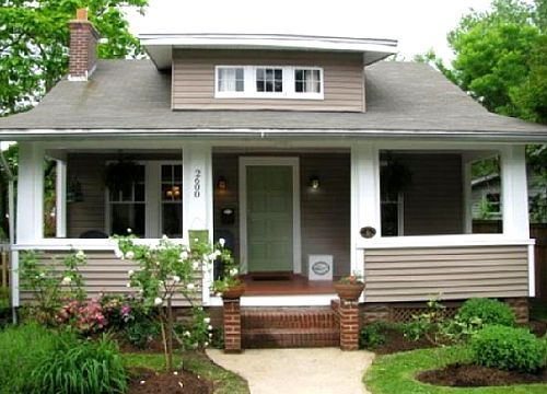 17 best images about exterior craftsman arts crafts for Bungalow roof styles