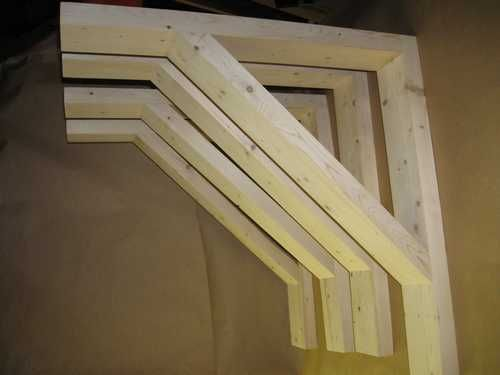 The Shelf Factory Makes A Wide Variety Of Wood Brackets Assembled Wall Unituch More