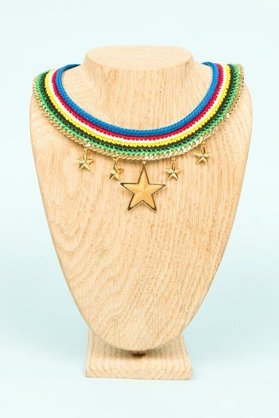 Venessa Arizaga for Opening Ceremony all stars necklace. This will make you feel like an Olympian already.
