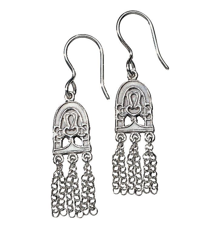 PARADISE EARRINGS  material: silver