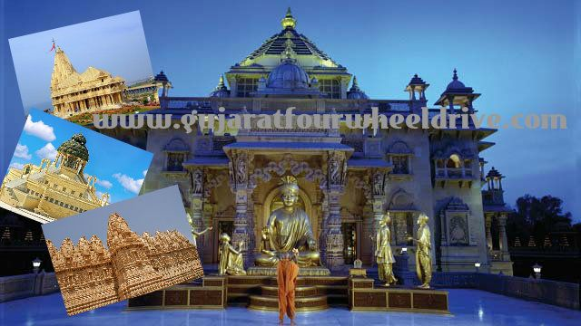 """A Journey to the Colourful Festivals and Holy Temples of Gujarat!! Visit to Akshardham temple """"one of the famous tourist attraction"""" and other Popular sanctuaries of the state incorporate are Somnath, Ajit, Saidham, Bhadreshwar, Rukmini, Dwarka, Ambaji and Someshware. G4WD brings the best tourist packages for you. Visit bit.ly/1bPeSeM."""