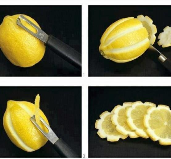 Flower-lemon via sustentador