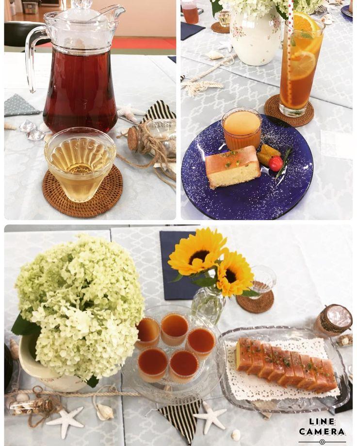 楽しみにしていたアイスティーレッスン�� なかでもアイスティーのスパークリングティーが美味しくて、夏は大活躍しそう�� 紅茶で作るシュガーシロップもハーブ��ティーや炭酸割りに入れたりとこちらもフル活用できそう。 紅茶のブラマンジェとウィークエンドというイギリスのスイーツ����でいただきました��  #アイスティー#アイスティーレッスン#LIly'stearoom#スパークリングアイスティー#ウィークエンド#紅茶のブラマンジェ http://misstagram.com/ipost/1547824149841229131/?code=BV6-d0SDrVL