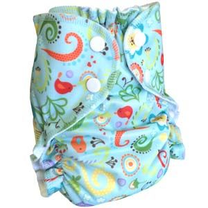 AMP Sized Duo Pocket Diapers Size Small