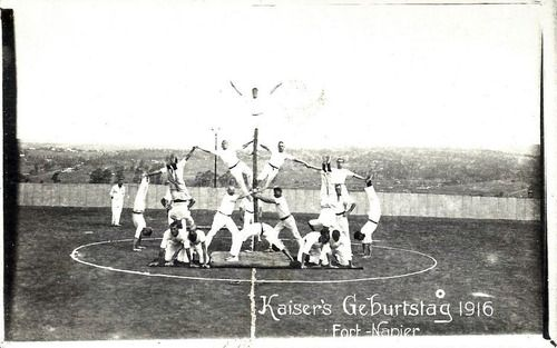 1916 South Africa - Pietermaritzburg German Prisoners