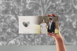 Die wunderbare Dankeskarte von Lena und Julians Hochzeit!