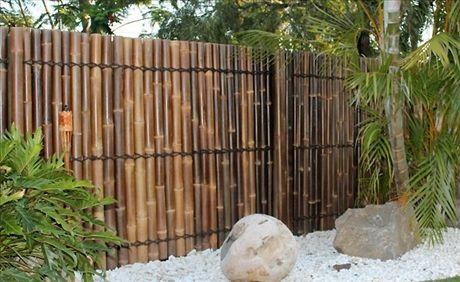 Bambuplank för asiatisk känsla