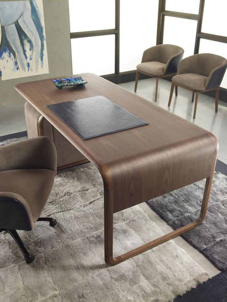 RECTANGULAR WOODEN WRITING DESK WOODY TIMELESS COLLECTION BY ULIVI SALOTTI