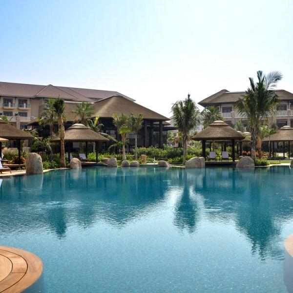 Magnificent views of Sofitel Dubai The Palm Resort and Spa, Palm Jumeirah