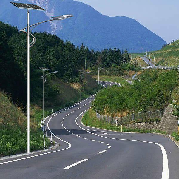 12V/24V 15W-120W Solar Street Lights Prices of Solar LED Street Lighting manufacturer