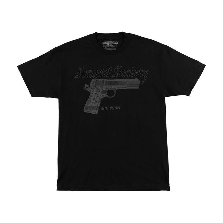 Metal Mulisha Men's Protected Armed Society T-shirt
