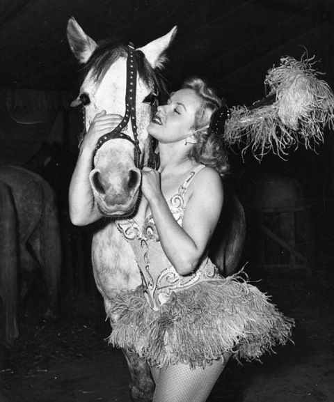 Circus Performer with a Horse