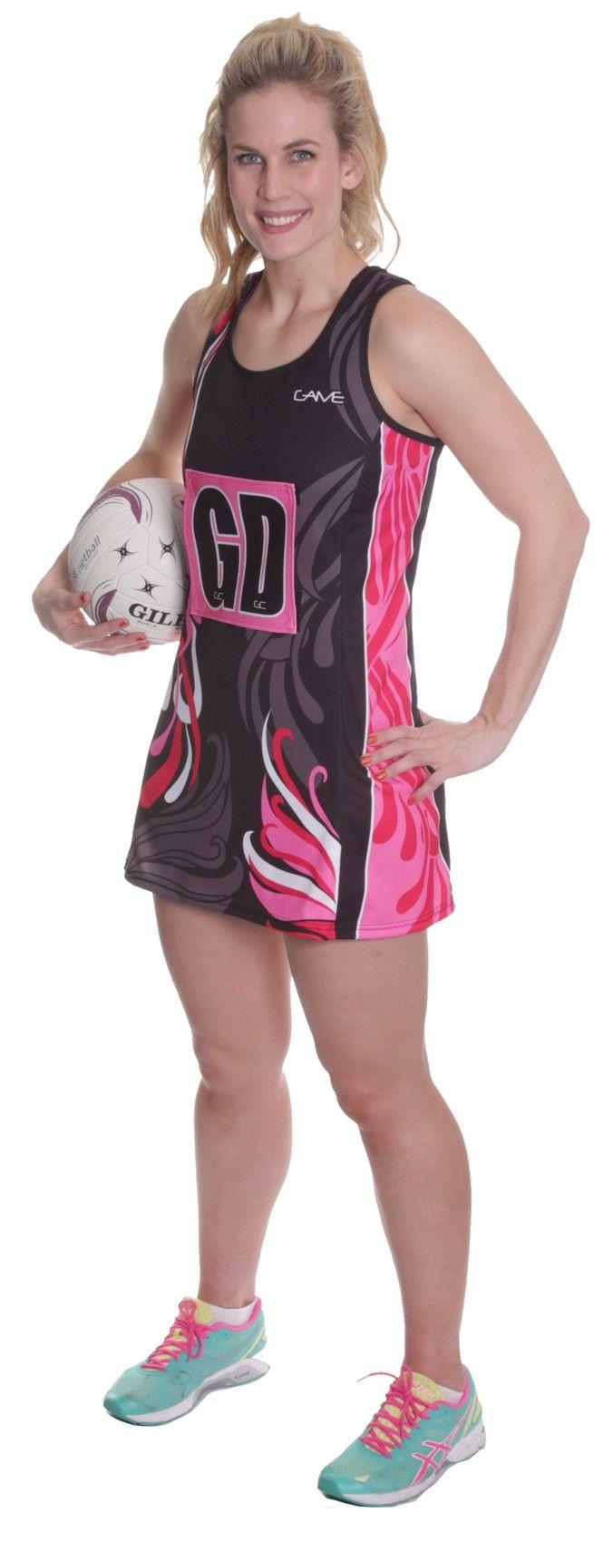 Netball Aline Dress | #Netball #NetballUniforms #NetballDresses