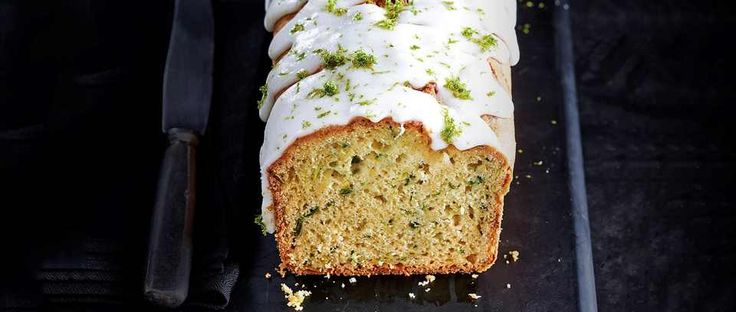 Sneak some of your 5 A DAY into your bake with this recipe for avocado, courgette and lime drizzle cake. The avocado gives a subtle silky feel to the sponge