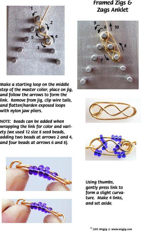 130 best Tutorials - Wire Jig images on Pinterest | Jewelry ideas ...