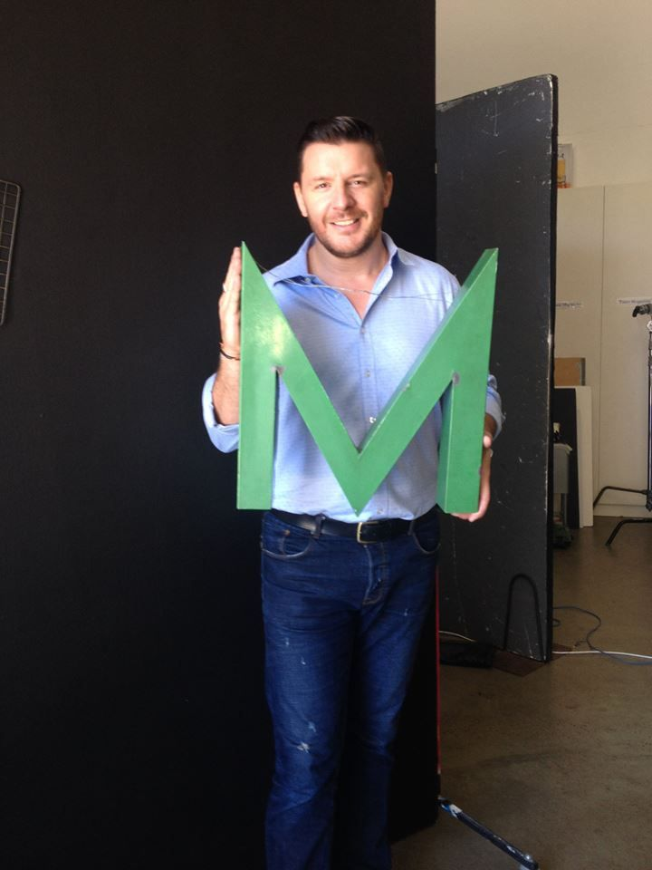 """""""M"""" for mmm"""