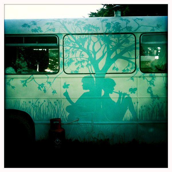 Wonderful outside design:) Design and build of unique caravans » For Sale. #LoveLaneCaravans | #caravans #studio