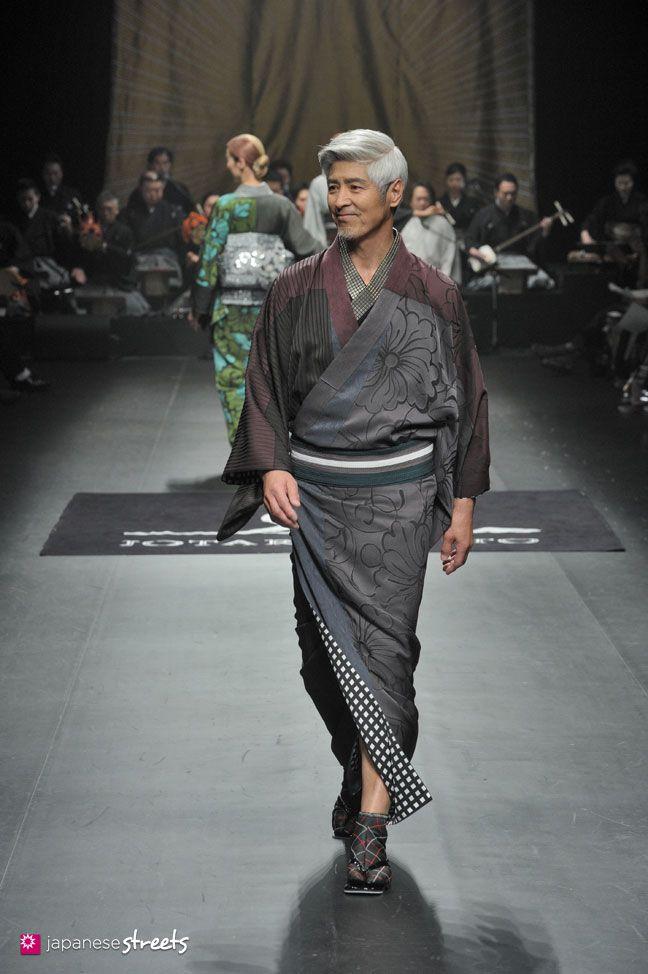 140319-7816 - Autumn/Winter 2014 Collection of Japanese fashion brand JOTARO SAITO on March 19, 2014, in Tokyo.