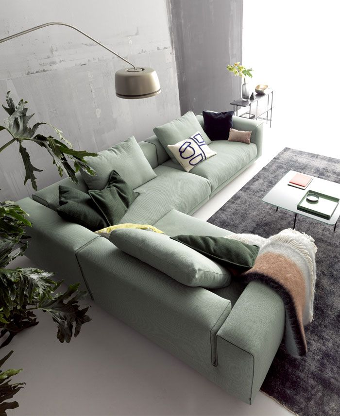 Moss Sofa Embodies the Classic Divan in a New Way - InteriorZine