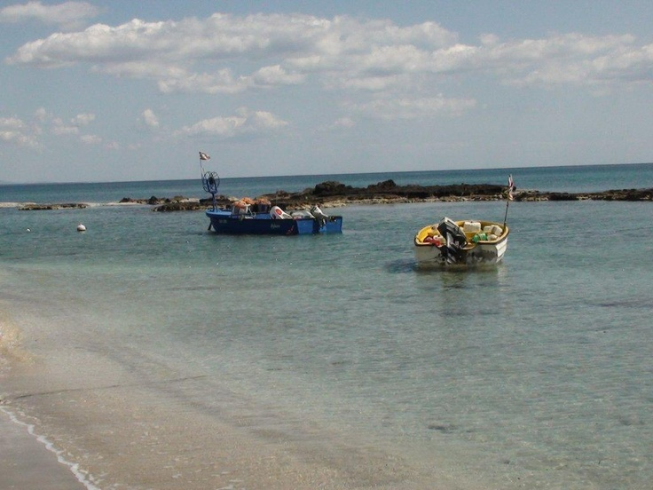 Beach near the hotel Salmis, North Cyprus -go there with gtravel.pl
