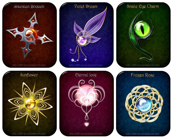 Magic Items Adopts 4 CLOSED By Rittik Designs On DeviantArt
