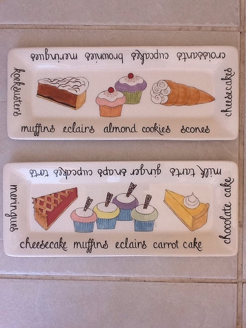 Hand Painted Ceramic Cake plates.  Janet Eddi Cape Town. info@medesign.co.za