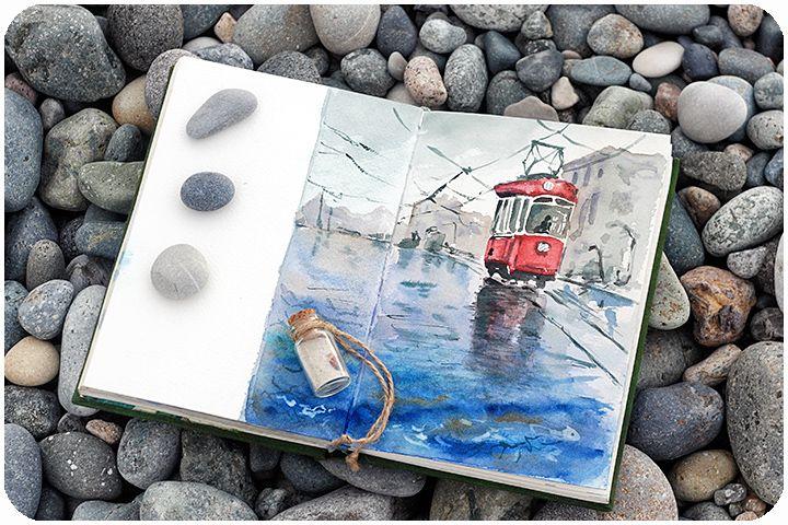 Зачем рисовать в путешествиях - Wanderlust&Watercolor