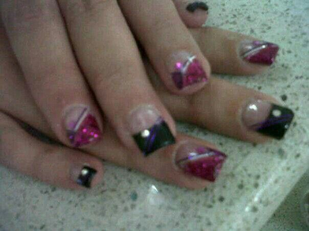 My own nails done by my bff