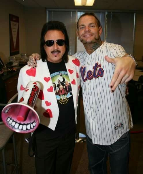 Jeff Hardy & Jimmy Hart (The Mouth Of The Sout)