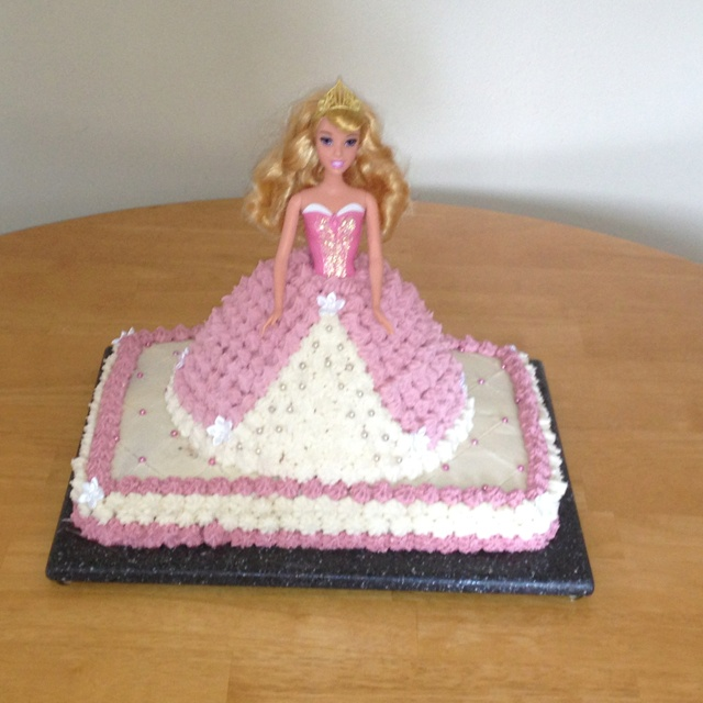 Princess Aurora Birthday Cake (Homemade) Party Ideas ...