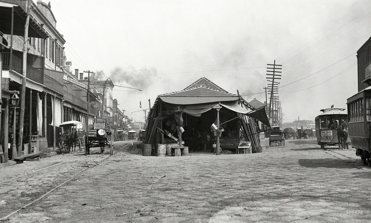 French Market in the 19th Century