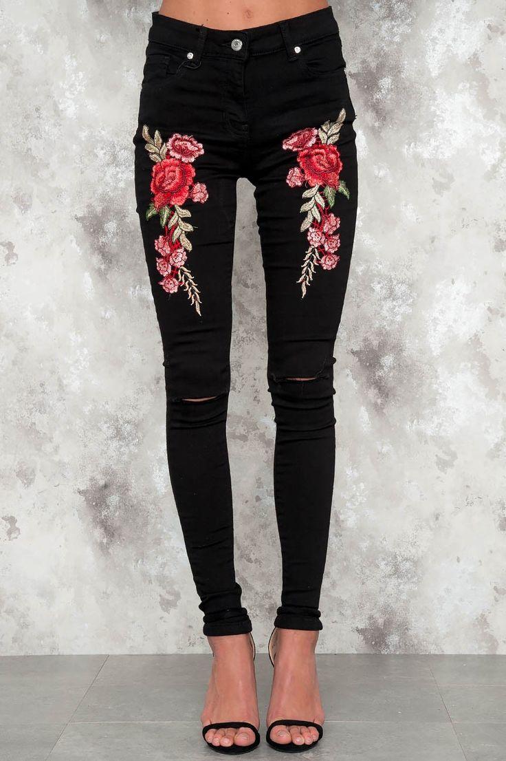 Svarta jeans STORLEK XL