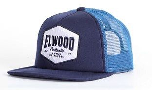 XCVI OUTFITTERS CAP OCEAN BLUE by ELWOOD CLOTHING
