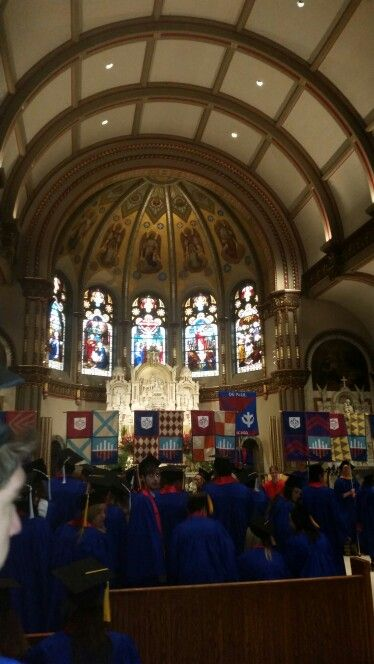 DePaul Class of 2015- St. Vincent DePaul Church Chicago