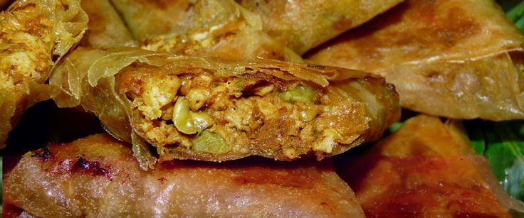 Samoussas poulet-curry