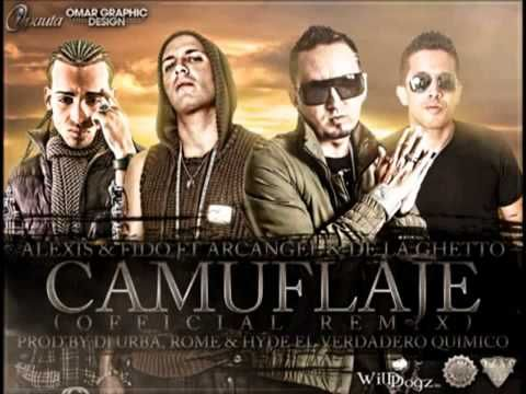 Alexis Y Fido Ft. Arcangel Y De La Ghetto - Camuflaje (Official Remix) ★Original 2011★.flv