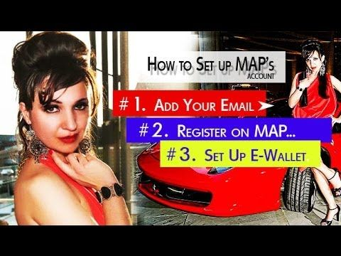 My Advertising Pays.com - How to Set Up MAP Account - Simple Steps