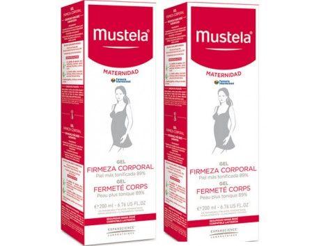 Mustela Maternidad Gel firmeza corporal 2x200ml - Doble. El básico de firmeza para después del parto en formato doble envase