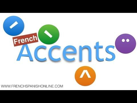 french accents aigu, grave, circonflexe - YouTube