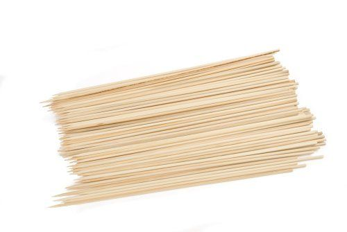 Charcoal Companion 10-Inch Bamboo Grilling Kabob Skewers, Package of 100 by Charcoal Companion. $1.94. Soak before using on grill. Model number: CC5004. Made from sustainable bamboo. 100-count package of round bamboo skewers from Charcoal Companion. 10-inch length
