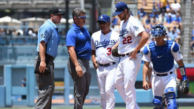 Report: Clayton Kershaw Could Be Out Up To Six Weeks With Back Injury
