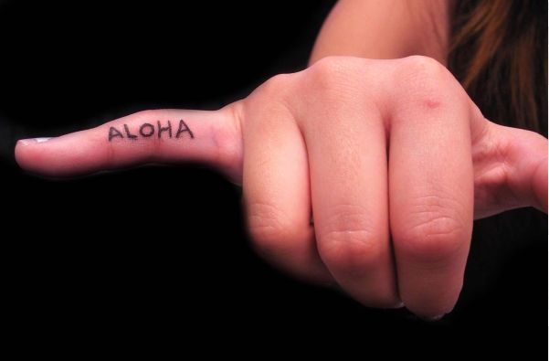 Aloha! Perfect tattoo for a shaka. Love how this was done by my own tattoo artist!