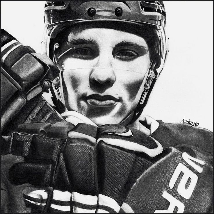Superbe dessin de brendan gallagher par audrey daigneault - Dessin hockey ...