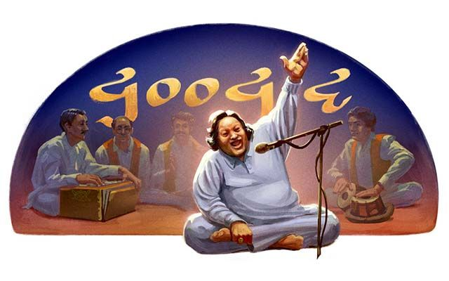 The Pakistani musician who gave us some of the most brilliant and flawless Qawwali and Sufi devotional songs would've turned 67 today. Google celebrates his birthday by dedicating the Google doodle to him.