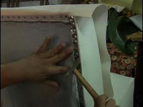 Cómo tapizar un sofá - YouTube