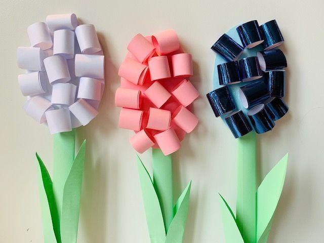 Betere Papieren bloemen knutselen – Jongens en meiden | Papieren bloemen HF-42
