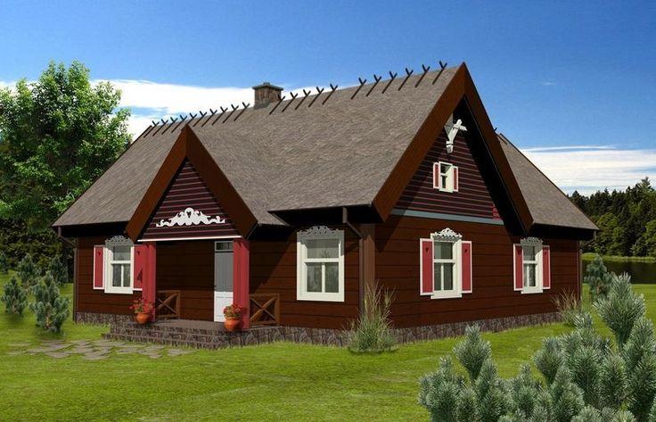 Projekt domu ATK106 - DOM AK1-21 - gotowy projekt domu